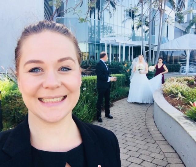 Kate Redgen Stamford wedding Brisbane Andrew Sinclair celebrant