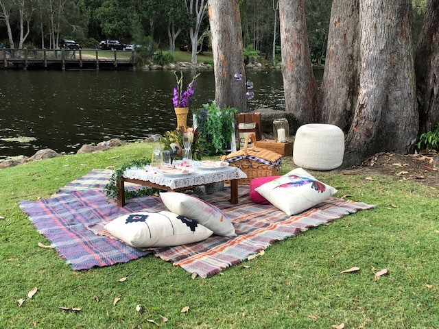 The Vintage Picnic Company Brisbane – outdoor small wedding